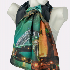 Harbour Bridge Night Scarf