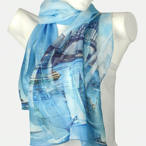Harbour Bridge Day Scarf
