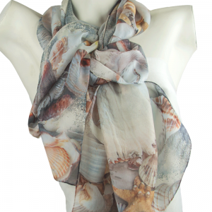 Sea Shells Scarf
