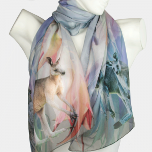 Kangaroo Evening Scarf