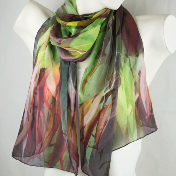 Just Gum Leaves Scarf