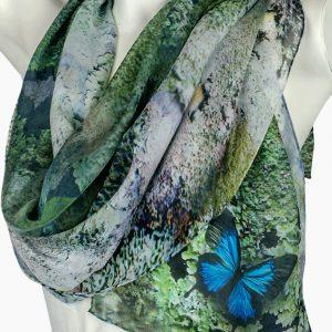 Lichen Butterfly Scarf