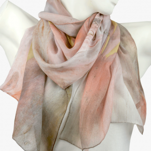 Pink Knobby Scarf